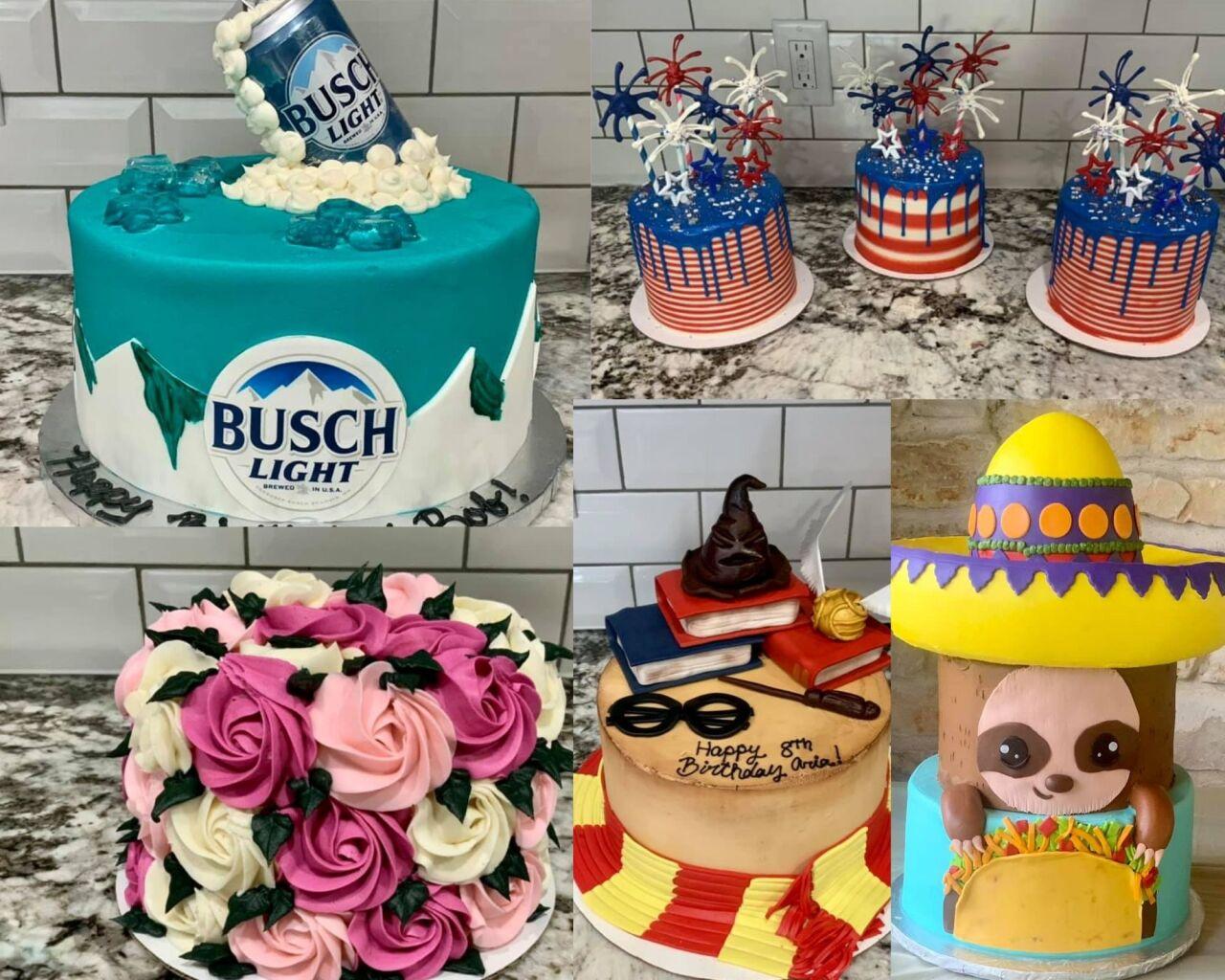 Zomazing cakes