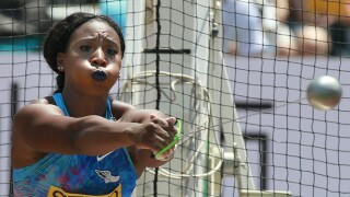 Gwen Berry hammer throw