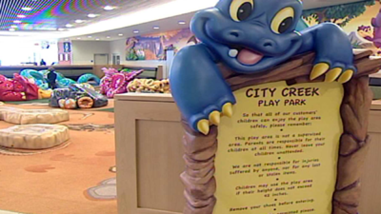 City Creek Center keeps kids in mind with playpark