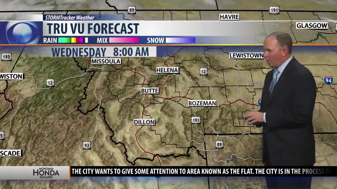 Mild and mostly sunny for Wednesday