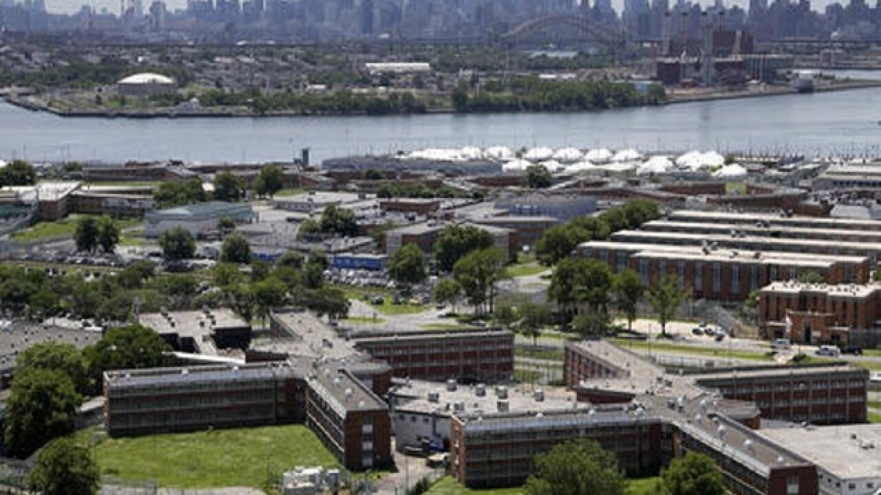 Inmates assault 2 Rikers correction officers, officials say