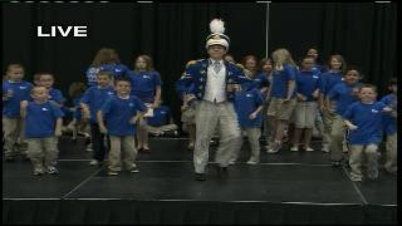 "Students perform ""The Music Man"""