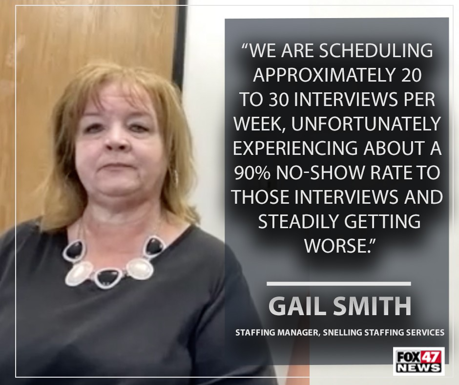 Gail Smith, staffing manager at Snelling Staffing Solutions