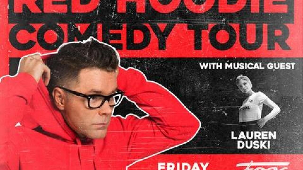 Bobby Bones 'Red Hoodie Comedy Tour' coming to Bakersfield