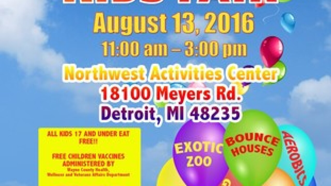 Free 'Happy, Healthy Kids Fair' this Saturday