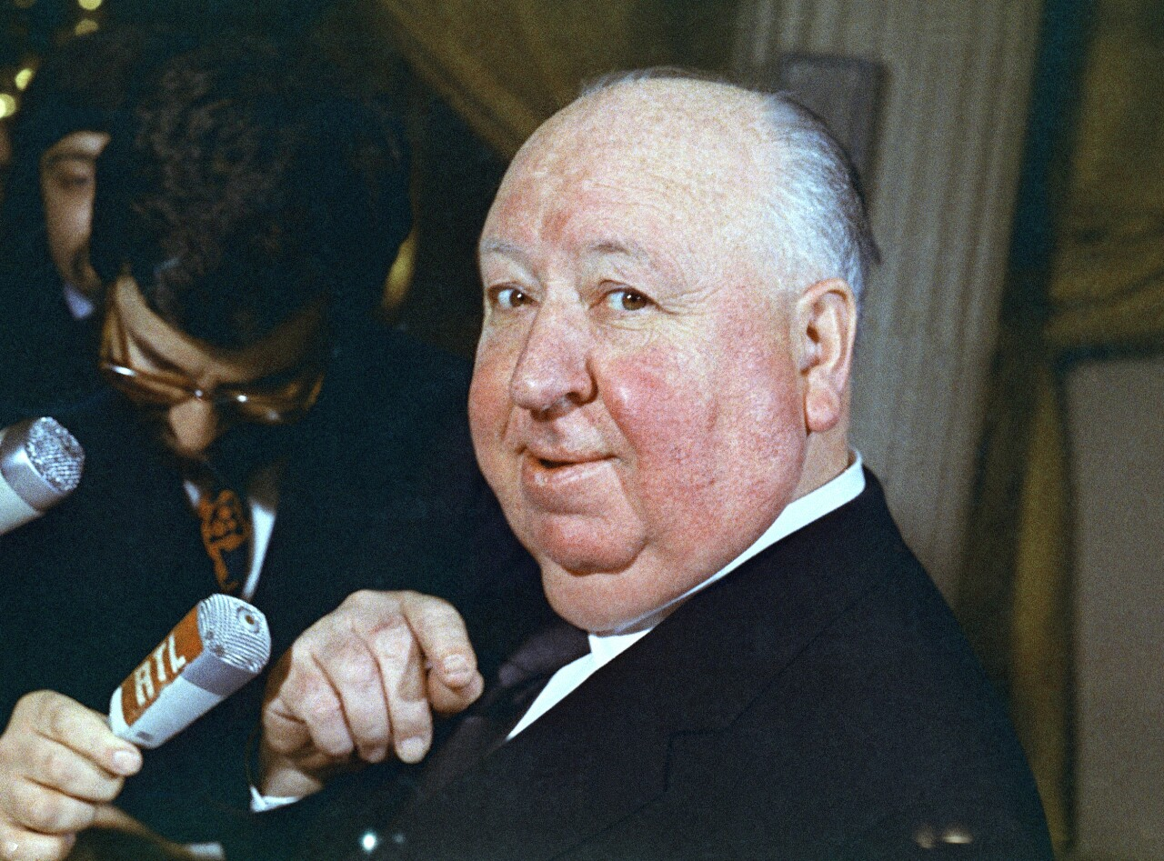 Alfred Hitchcock in 1972