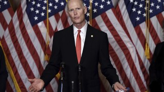 Sen. Rick Scott in quarantine after coming in contact with someone who tested positive for COVID-19