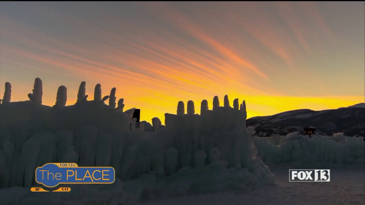 Need a break from the winter doldrums? Ice Castles offer outdoor wonder for kids and adultsalike