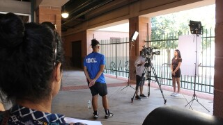 'American Idol' holds auditions at Scottsdale Stadium in Arizona