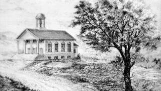 St. John's Episcopal church back in the early 1800s