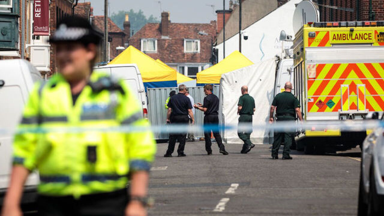 Russians charged over UK Novichok nerve agent attack