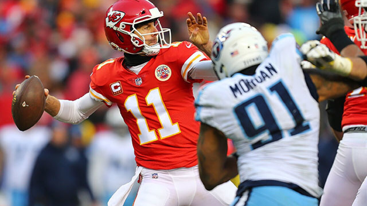 Chiefs quarterback Alex Smith traded to the Redskins
