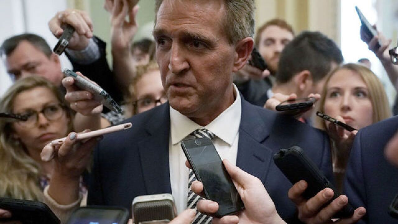 Flake calls Trump's comments on Ford 'appalling'