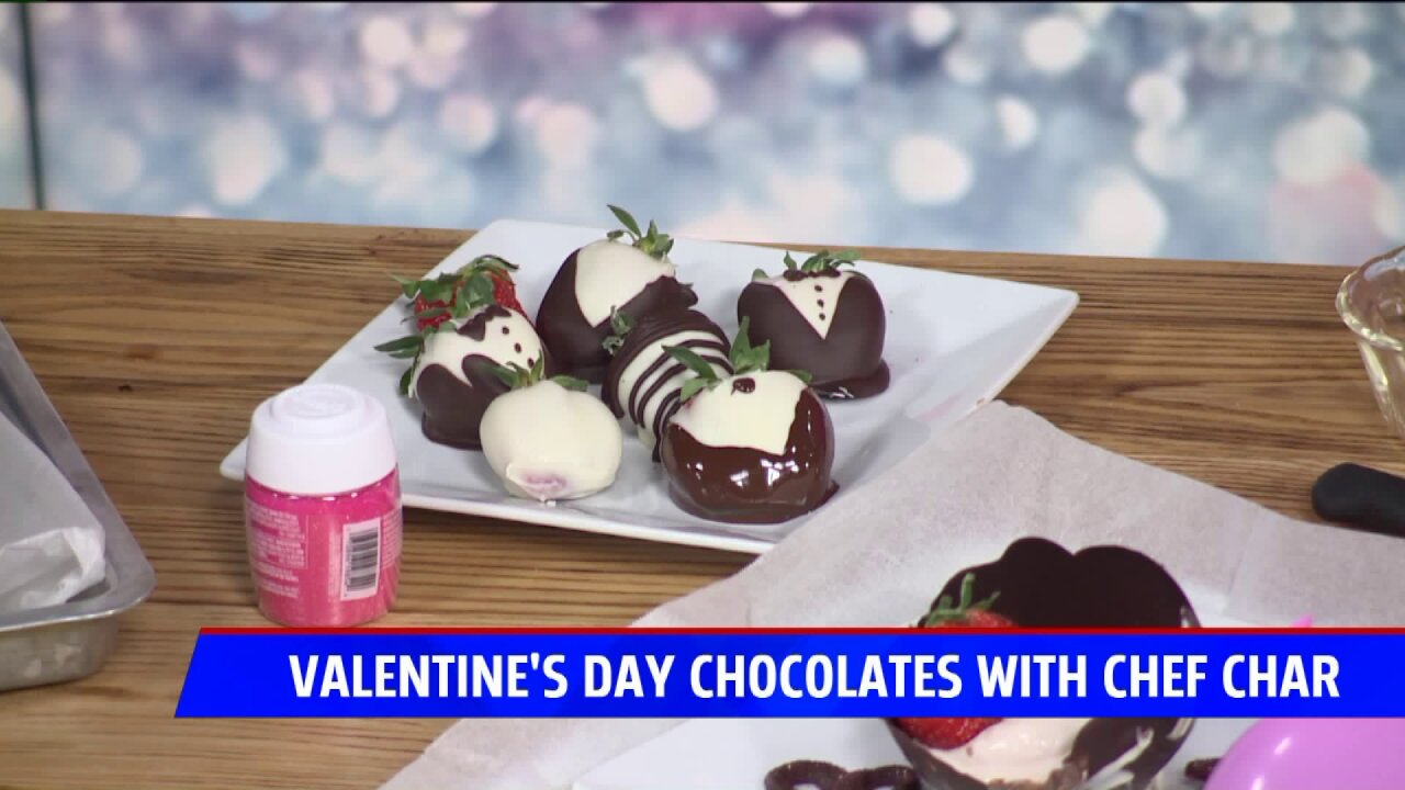 Valentine's Day sweet treat ideas with Chef Char