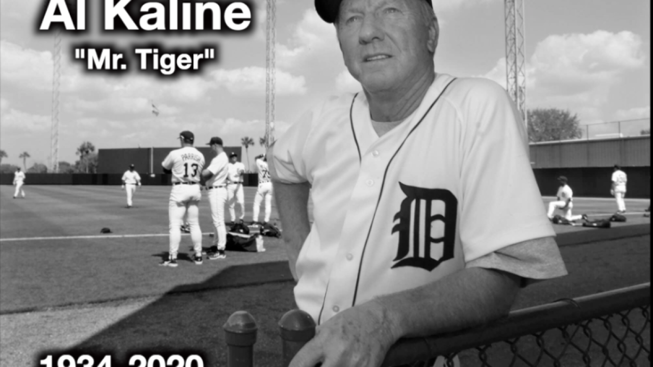 Justin Verlander, others react to the death of Tigers legend Al Kaline