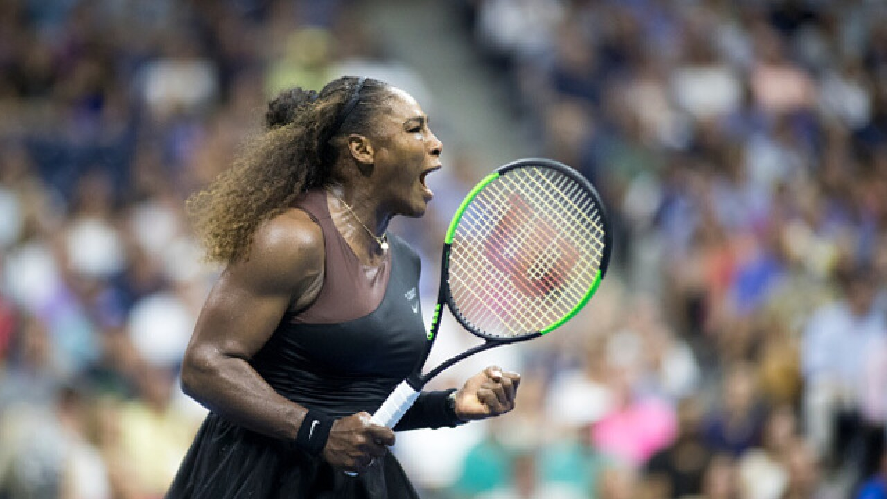 Serena Williams puts aside shaky start to advance to US Open semifinals