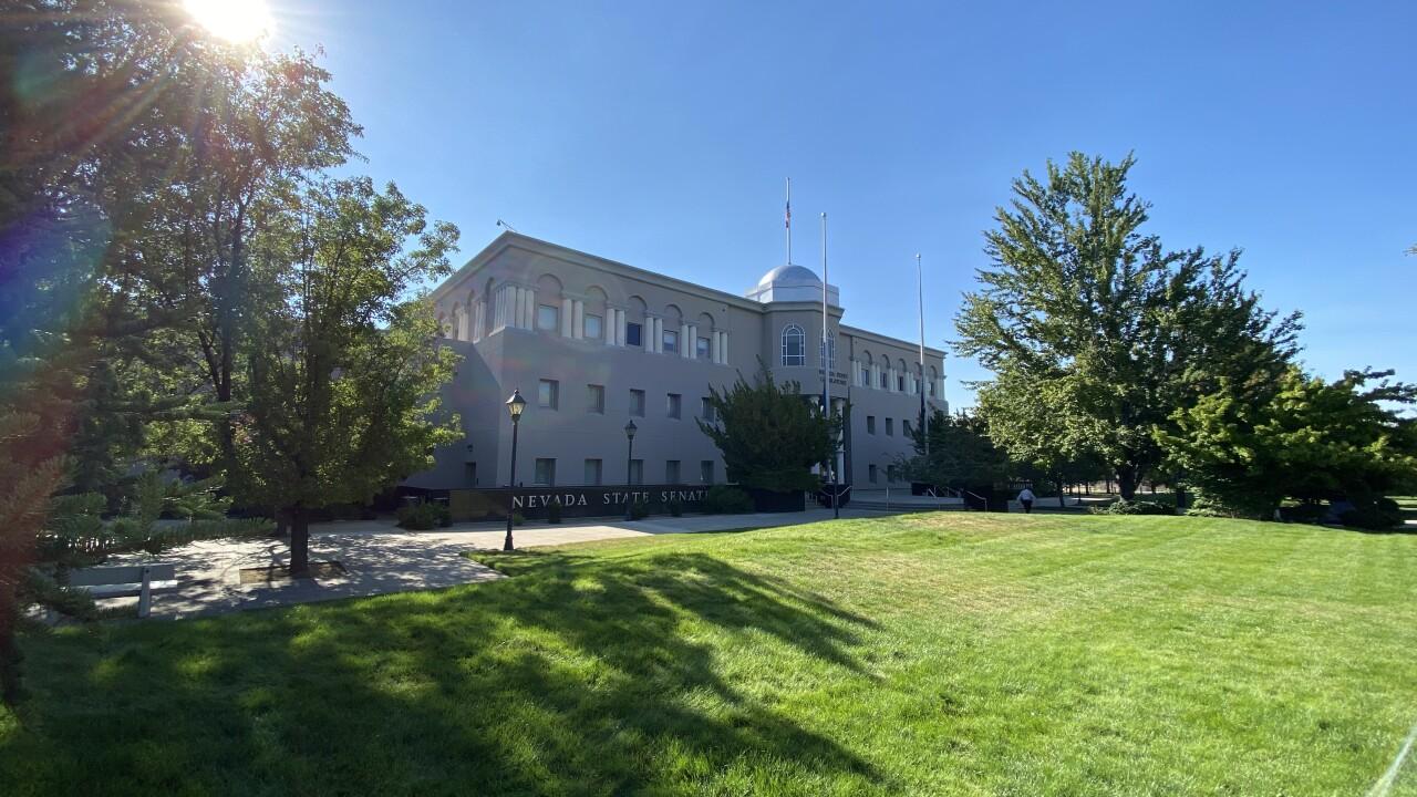 The Nevada Legislature building is located in Carson City, Nevada