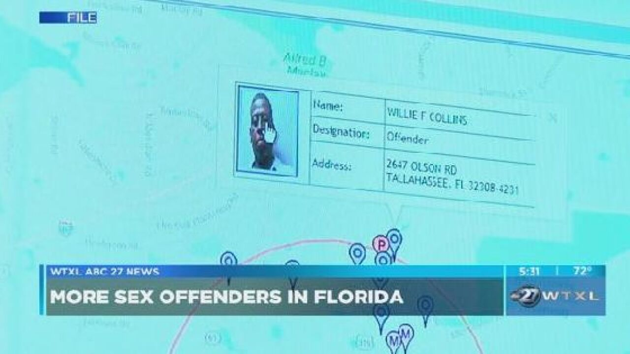 Sex offenders living in Florida is growing