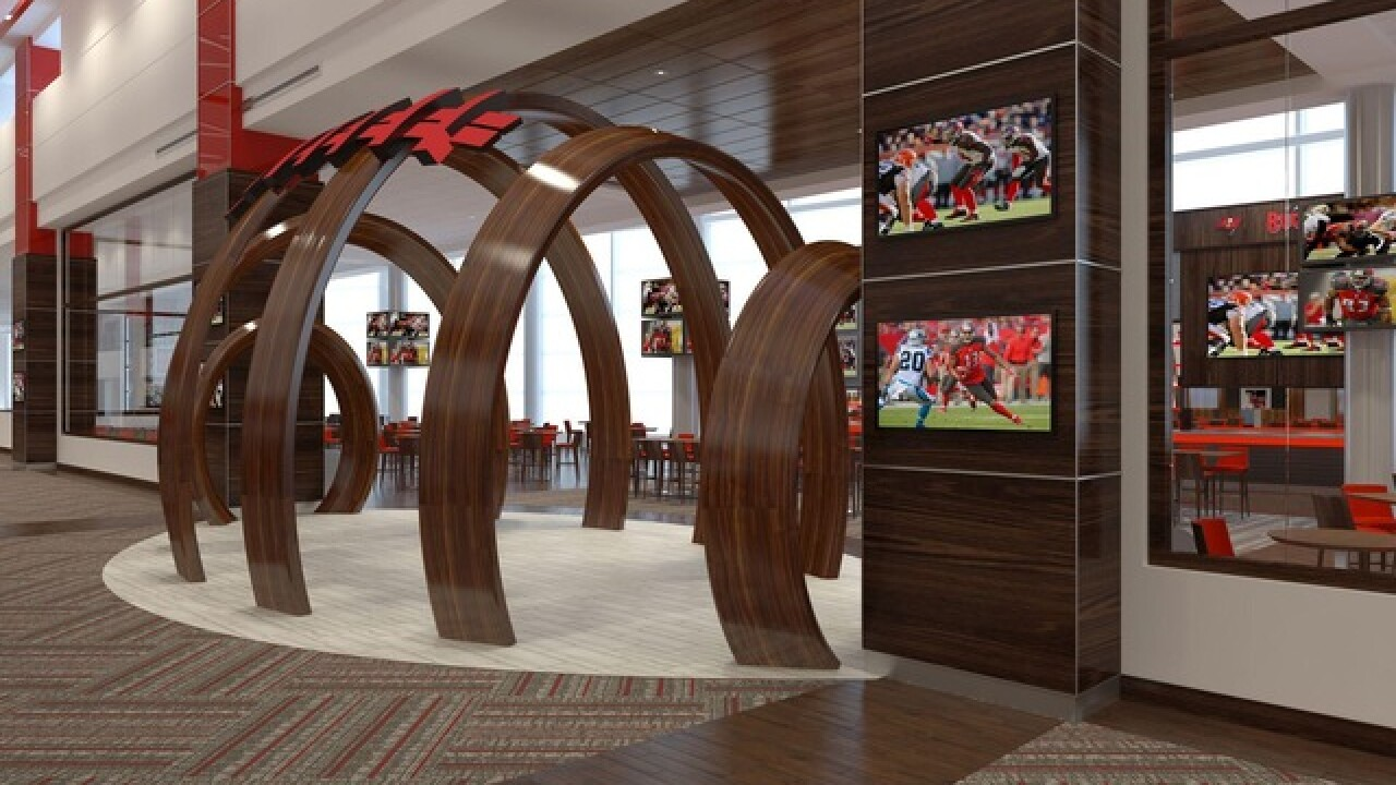 427a1522 Tampa Bay Buccaneers announce more upgrades for Raymond James Stadium