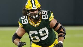 Packers Bakhtiari Recovery Football