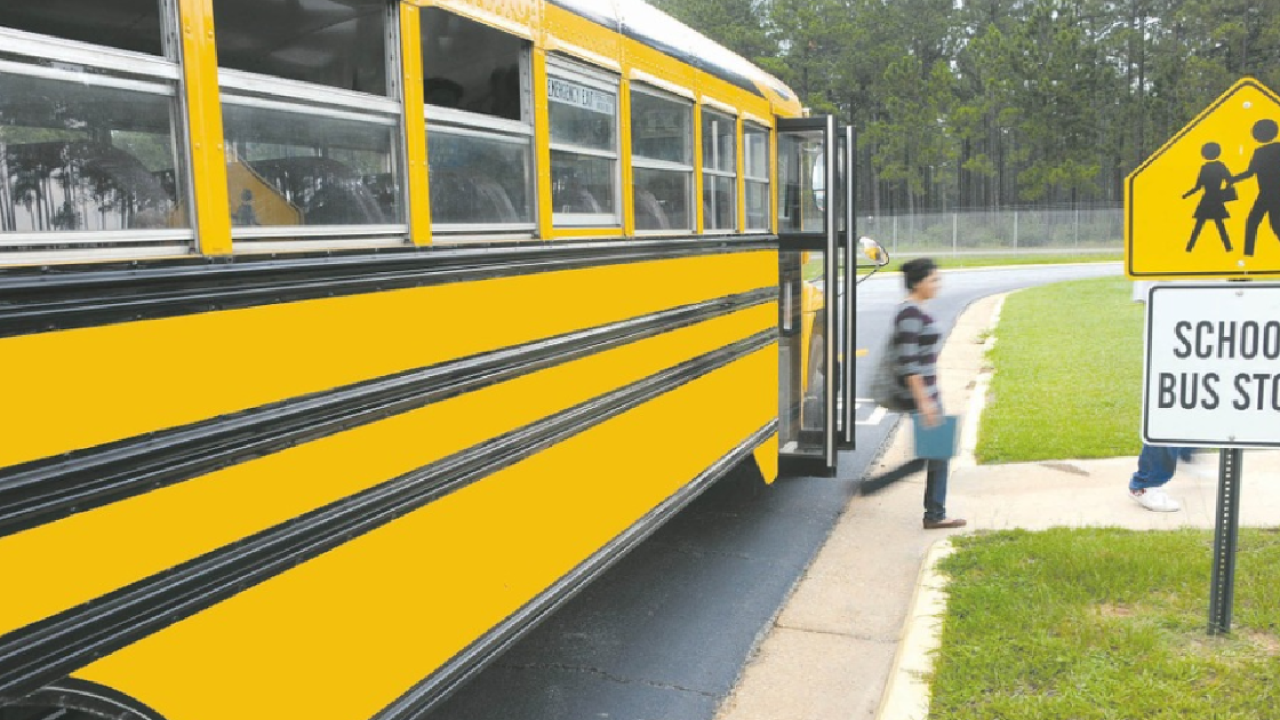 School buses mean summer's over for Leon County students