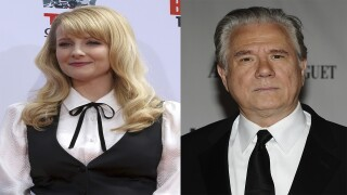 Michelle Rauch and John Larroquette, stars of new 'Night Court