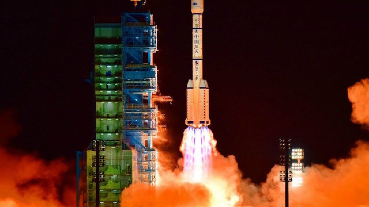 China's Tiangong-1 space lab plummets to Earth