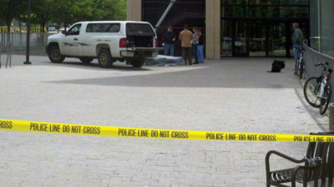 Officials: Man who fell to his death at SLC library committed suicide