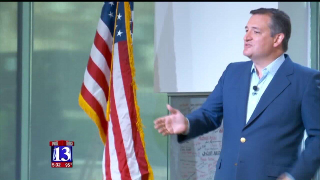 Ted Cruz rallies in support of Chris Herrod's bid for Utah's 3rd CongressionalDistrict