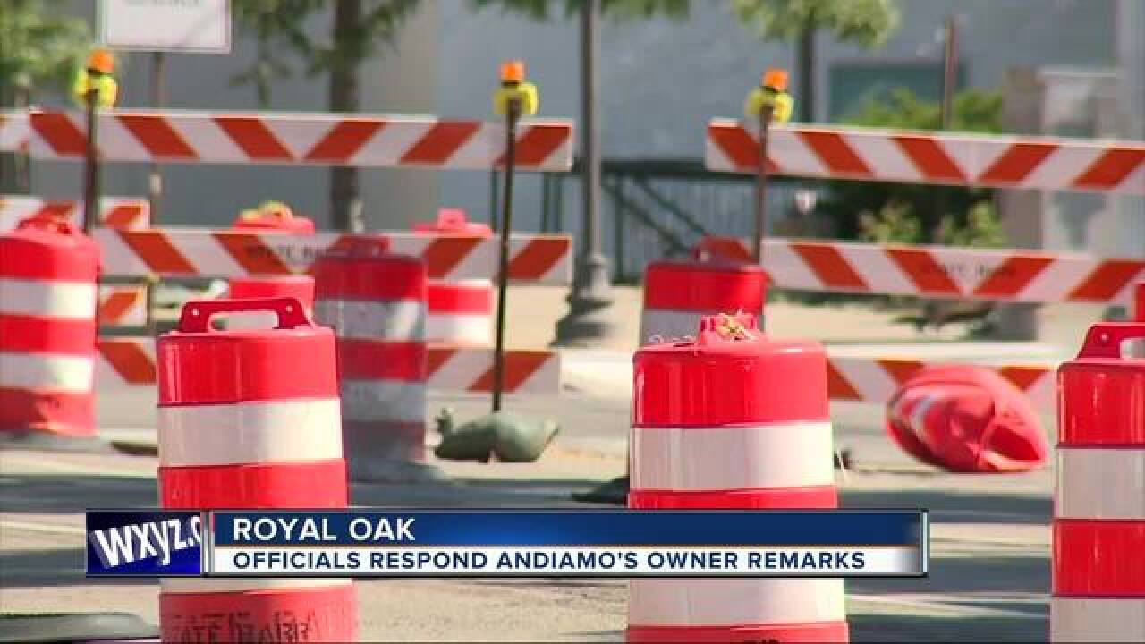 Andiamo Royal Oak suddenly closes after 19 years
