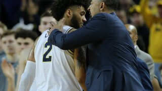 Isaiah Livers uncertain for Michigan's matchup with No. 16 Spartans