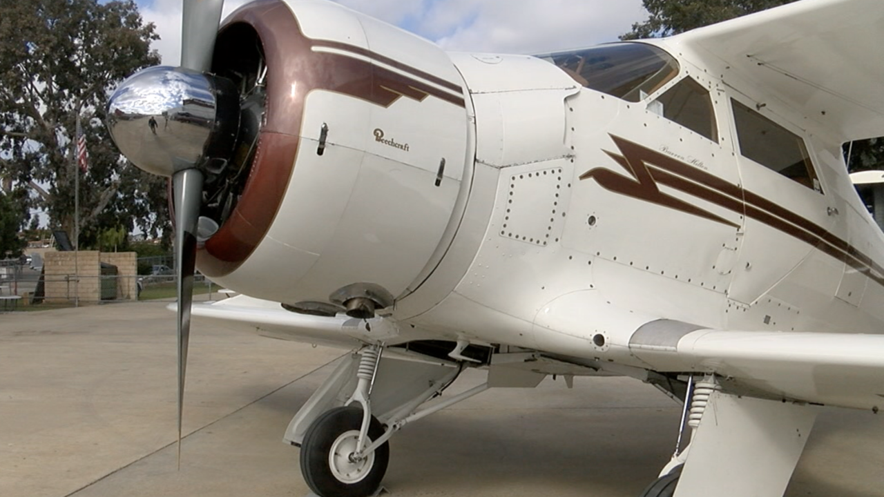 Barron Hilton rare plane