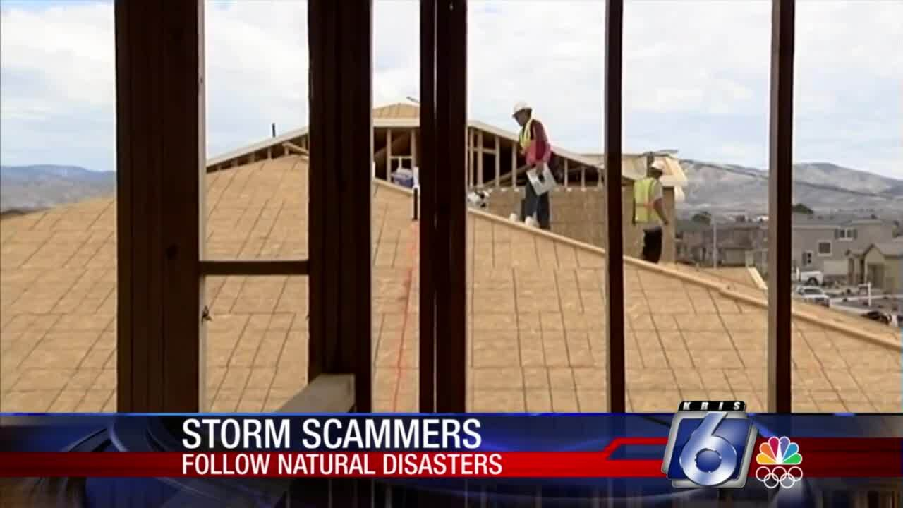 """Ask the BBB: Beware of """"storm chasers"""" who pop up after natural disasters"""
