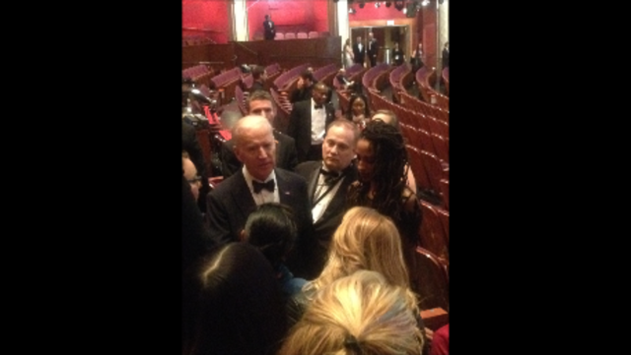 PHOTOS: IUPUI student at Oscars with Lady Gaga