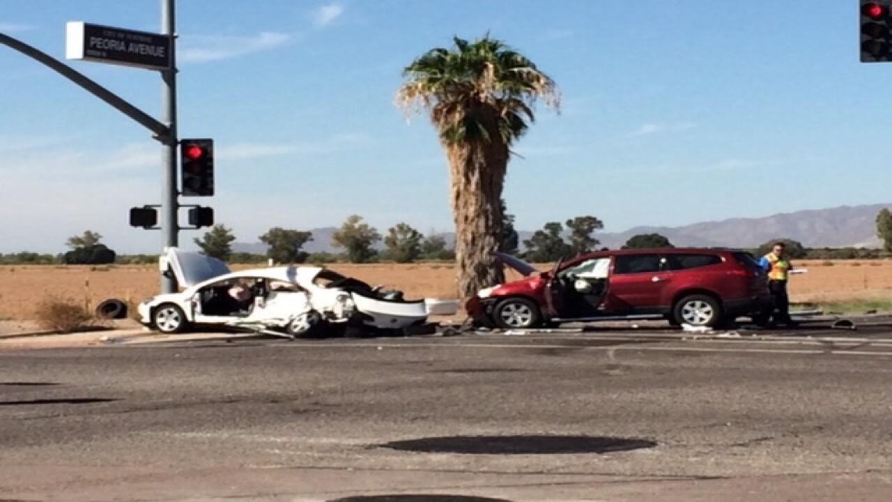 NOW: Serious crash at Litchfield/Peoria