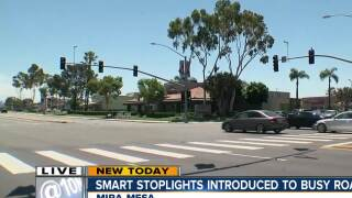 Smart stoplights switched on
