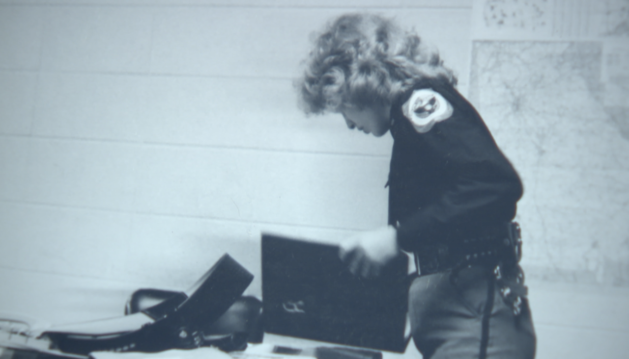 Timberlake PD Chief Susan Scofield in early career