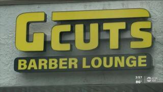 G cuts barber lounge.