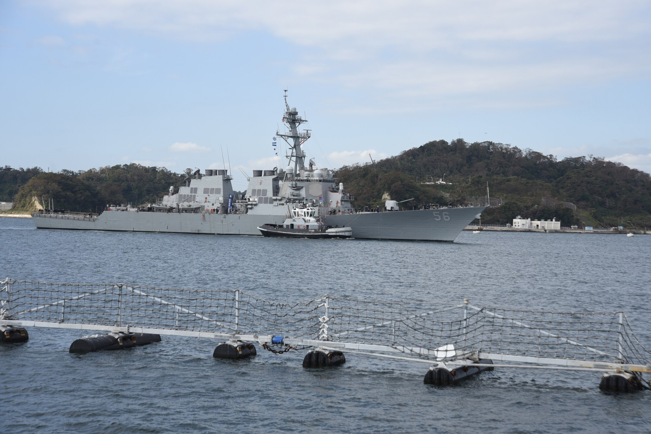 Photos: More than two years after deadly collision, USS John S. McCain returns tosea