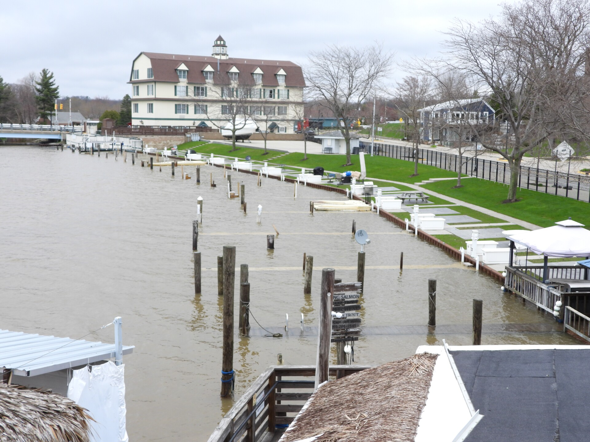 South Haven harbor high water 001 Tom Renner South Haven.JPG