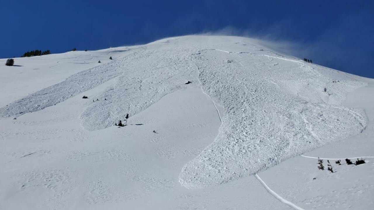 CAIC Feb. 2 2020 avalanche at Loveland Pass