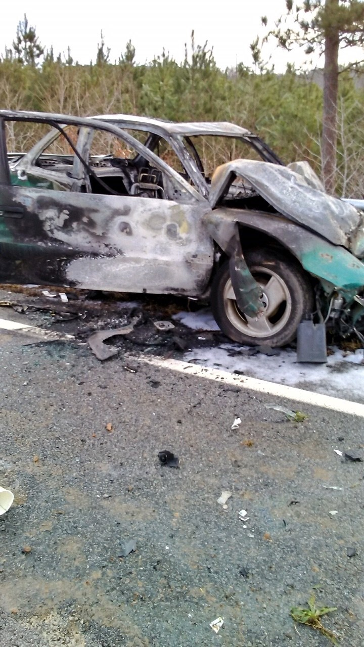 Photos: Wrong-way driver kills 2 in fiery Route 58 crash