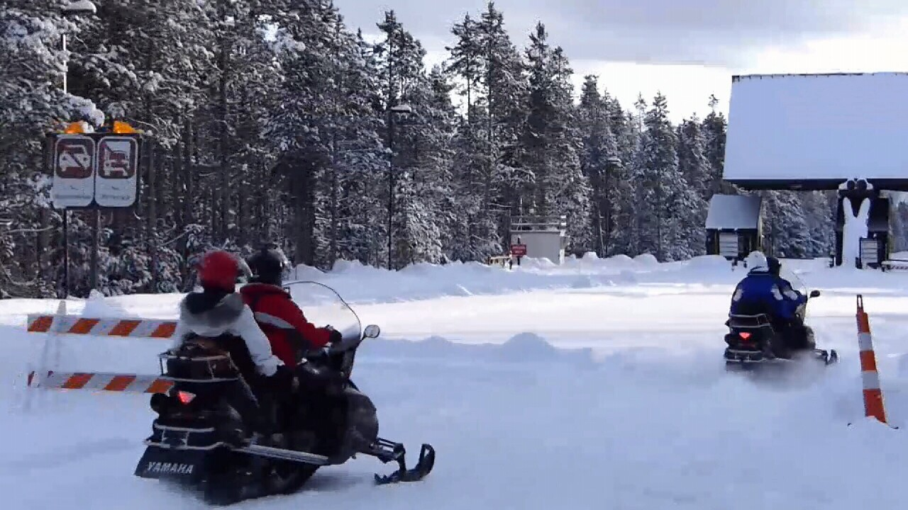 This Week in Fish and Wildlife: Snowmobile Safety