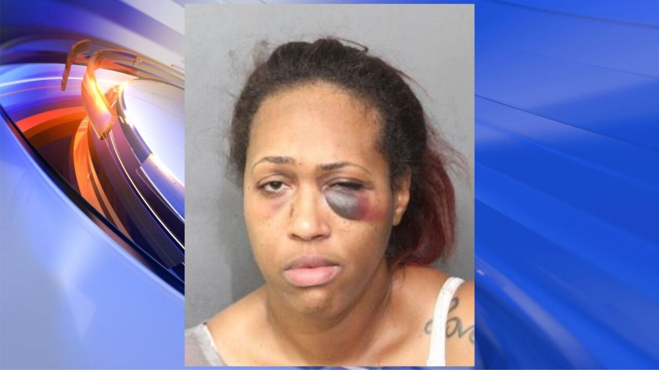 Woman arrested in Norfolk after reportedly assaulting police officer