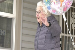 Friends hold birthday parade for 95-year-old Butte woman