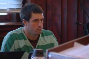 Patrick Frazee looks on in court