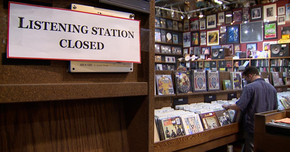 Vinyl record sales help Denver businesses rebound