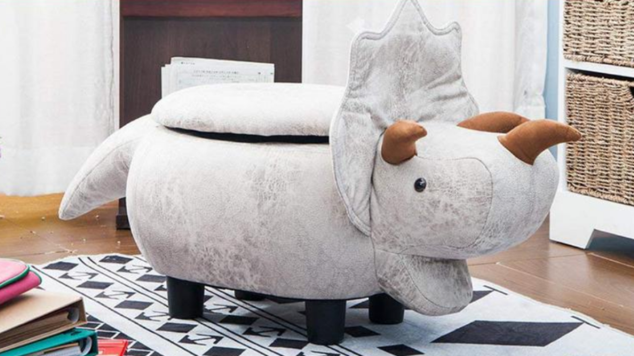 Adorable animal storage ottomans are on sale as low as $43