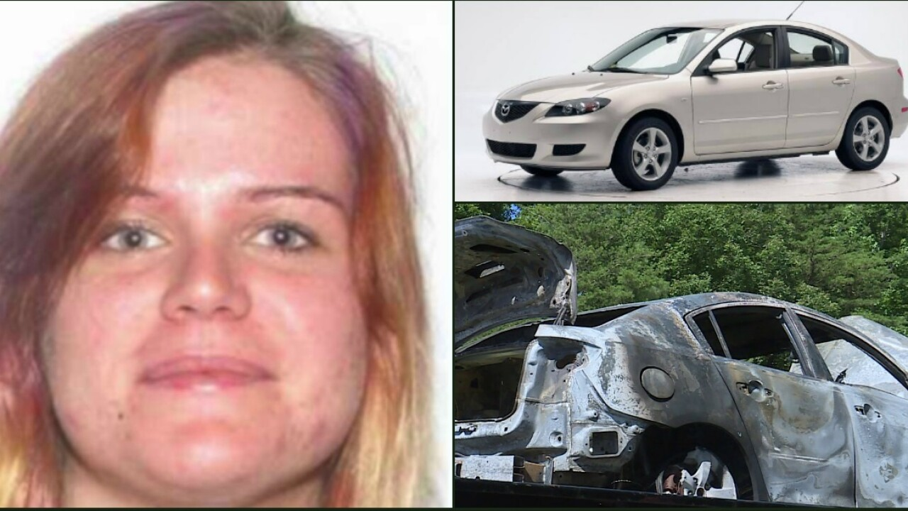 19-year-old Megan Metzger likely abducted; her car foundtorched