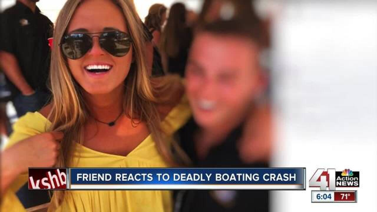 Friends mourning JoCo woman killed in boating crash